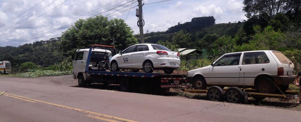 PMRv recolhe veículo da Prefeitura de Piratuba por Licenciamento atrasado