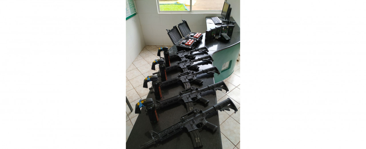PMRv de Concórdia recebe novos equipamentos e armas