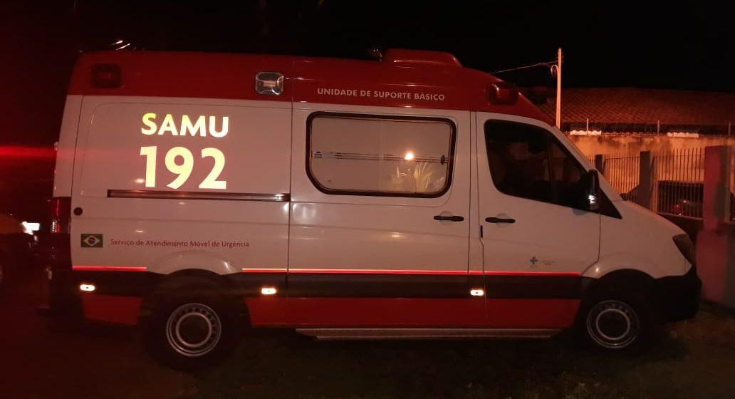 Jovem fica ferido ao cair de muro em fuga de briga em Concórdia
