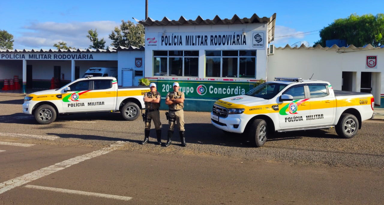 PMRv de Concórdia recebe novos veículos