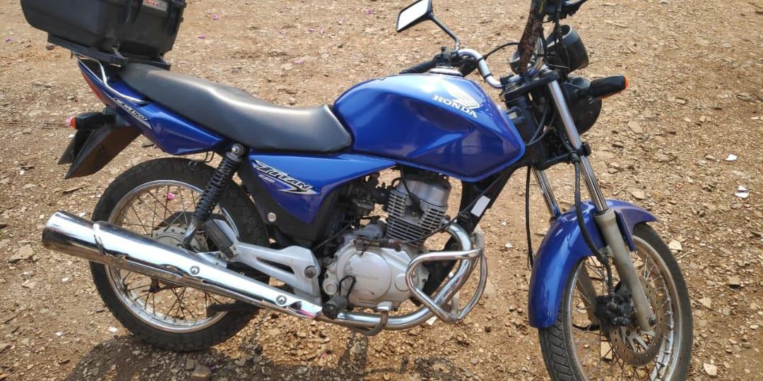 Ladrões levam duas motocicletas de uma mesma residência no Cinquentenário