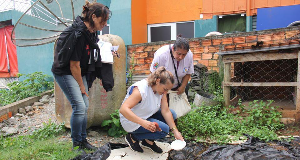 Cinco municípios com focos de dengue na Amauc