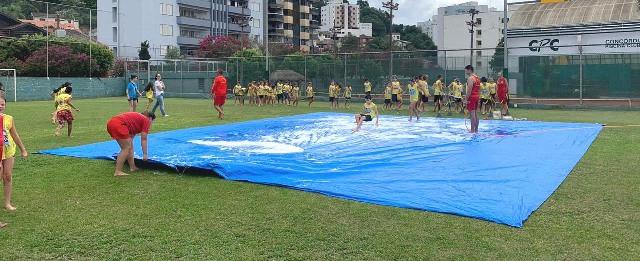 Mais crianças poderão participar do projeto Golfinho em Concórdia - OUÇA