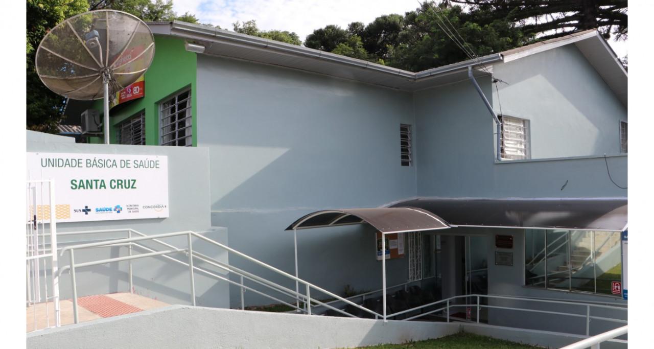 Obras inauguradas no bairro Santa Cruz