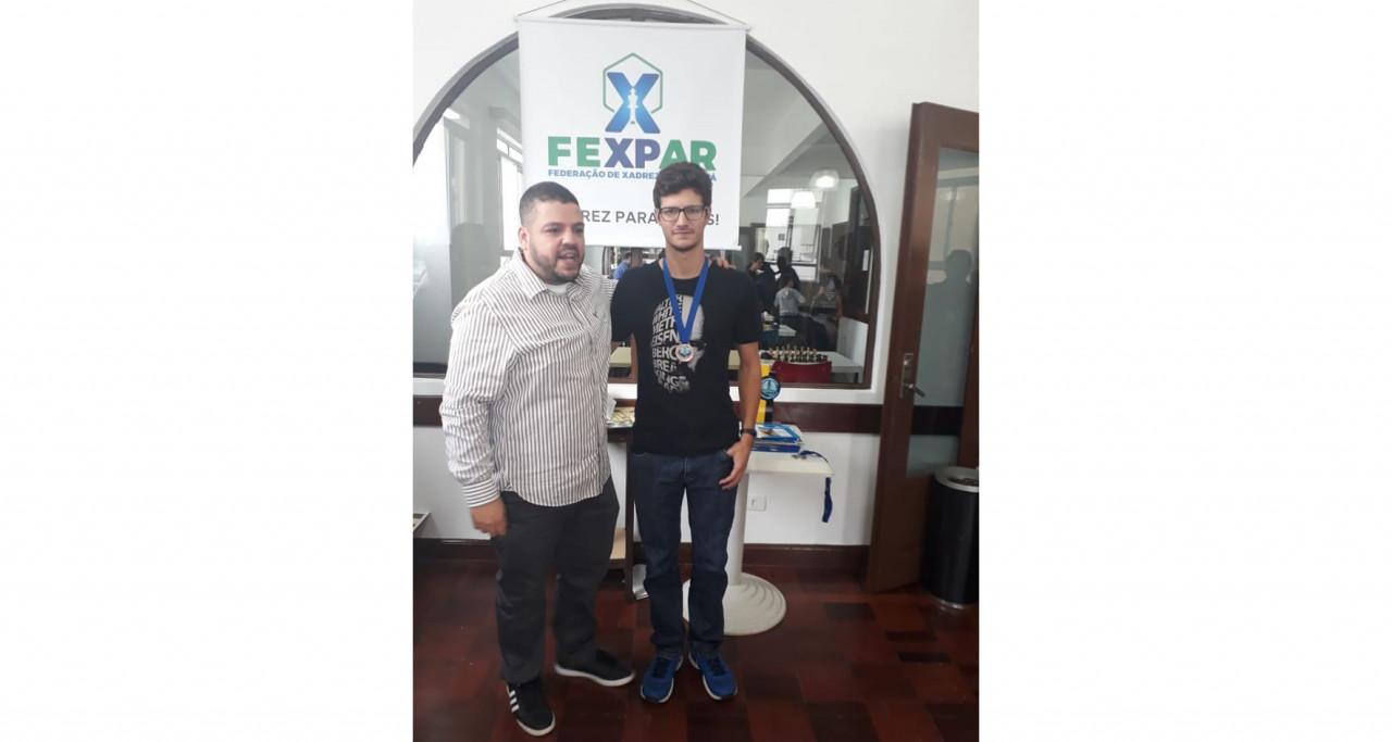 Luan Klein em terceiro no Fexpar em Curitiba