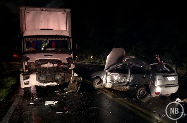 Caminhão de Arabutã se envolve em acidente com morte na Serra Gaúcha