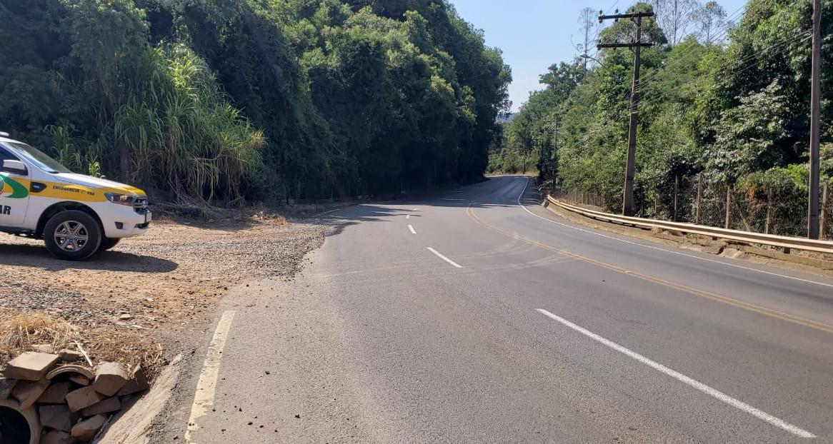 Trecho da SC 283, que passa por Concórdia, registrou 10% de todos os acidentes ocorridos na região