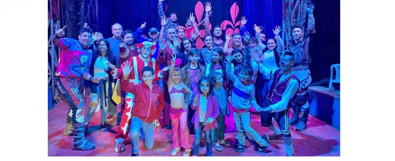 Sem espetáculos, sem público e sem renda, Circo que está em Peritiba passa por dificuldades