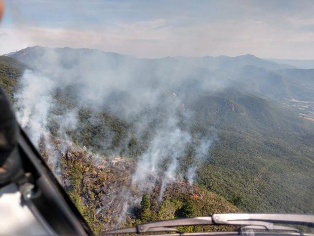 Incêndios em vegetação no estado crescem 407% em 2020, aponta Corpo de Bombeiros Militar