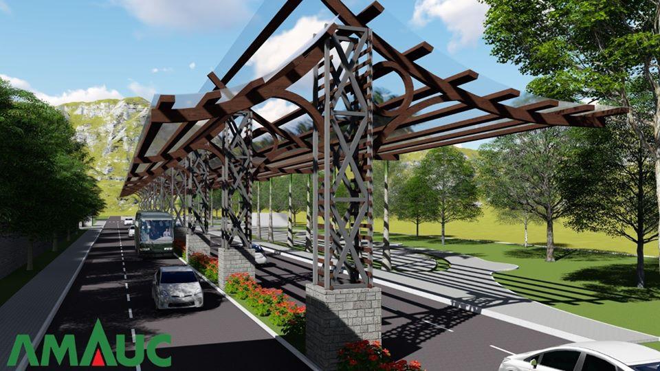Prefeitura de Piratuba divulga projeto para construção de rua coberta