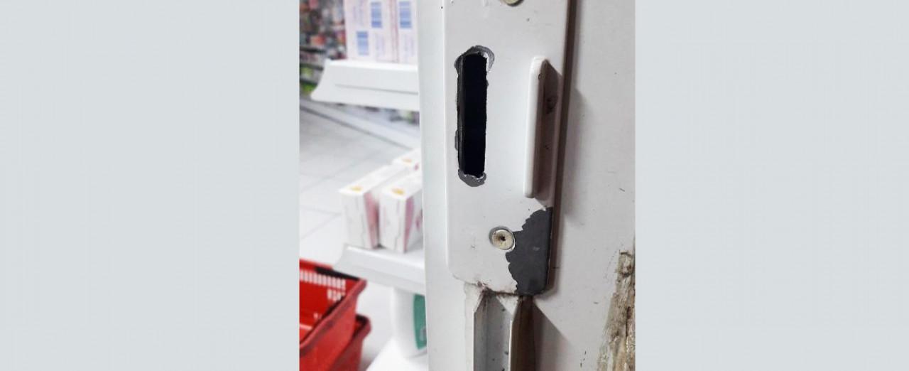 Ladrão invade farmácia de Concórdia e furta produtos