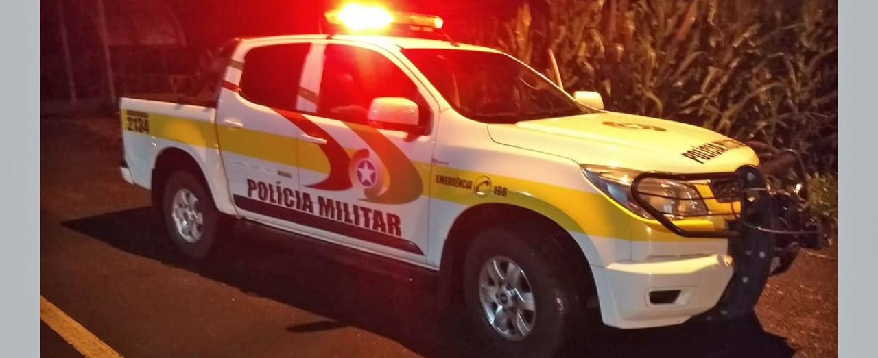 Homem acusado de homicídio no RS é preso pela PRE na SC-155 em Itá