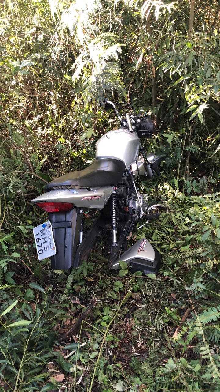 PM localiza moto furtada em Concórdia