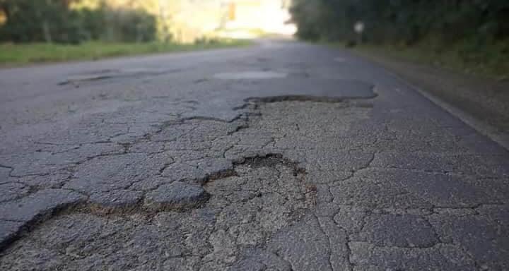 Deinfra deve recomeçar nesta semana o tapa buracos na SC 355 entre Jaborá e Catanduvas