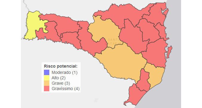 """Região da Amauc agora é de """"Risco Gravíssimo"""" para coronavírus"""
