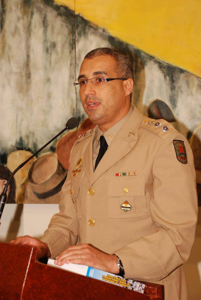 Tenente Coronel Ricardo Alves da Silva deve ser promovido a Coronel no próximo mês