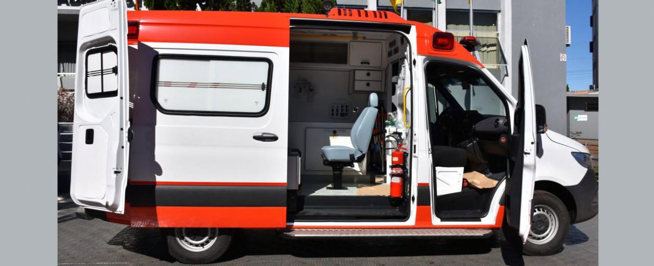 Prefeitura de Concórdia irá receber ambulância com UTI da empresa JBS