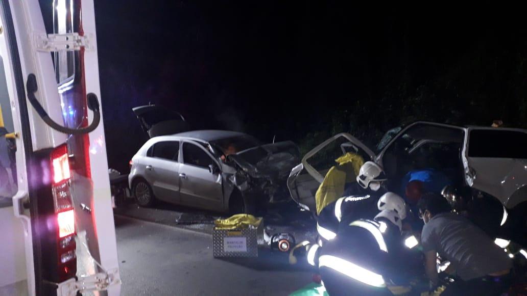 Motorista de carro de Concórdia apresentou traumatismo craniano