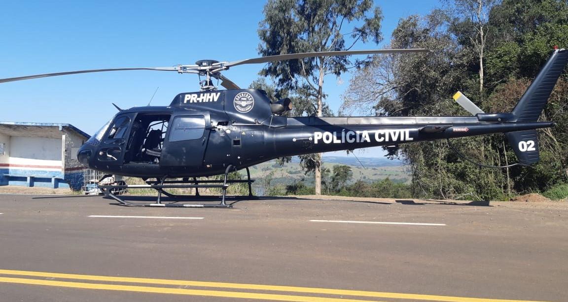 Operação conjunta resulta na apreensão de grande quantidade de droga em Piratuba
