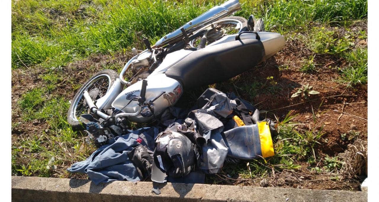 Polícia Militar Rodoviária localiza caminhão supostamente envolvido em acidente com morte em Jaborá