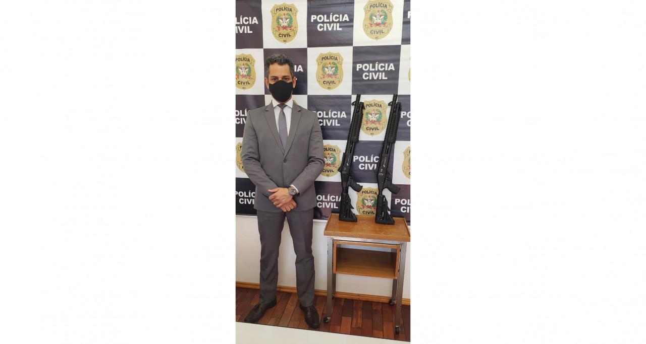 OUÇA: Polícia Civil de Concórdia recebe novos armamentos