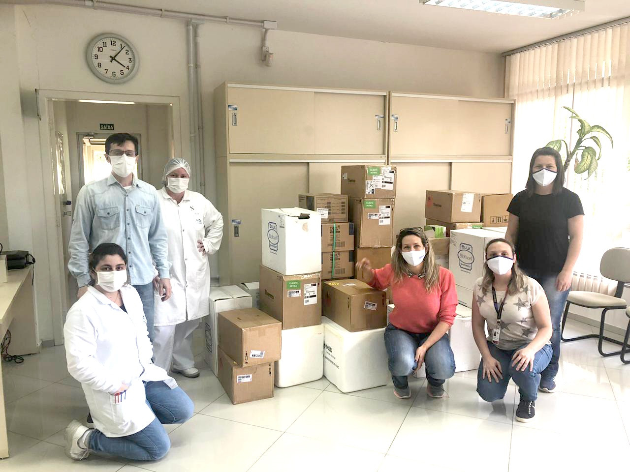 BRF entrega insumos para auxiliar a Embrapa nos diagnósticos de Covid-19