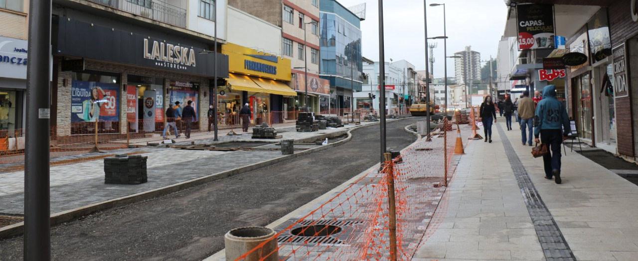 Trânsito em parte da Maruri estará em meia pista no fim do mês