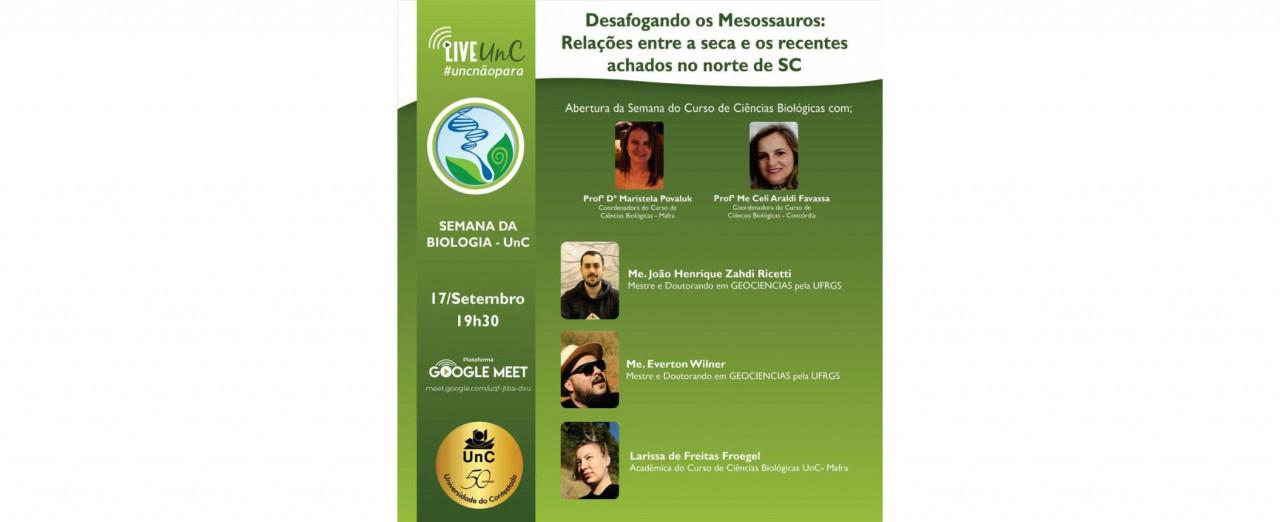 Meditação e Ciência na Semana de Biologia da UnC