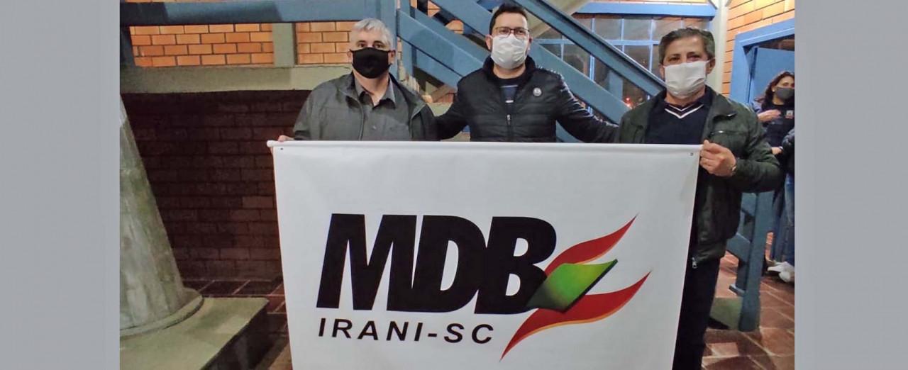 MDB de Irani vai de chapa pura para a eleição com Sivio Lemos e Neuri Zoleti