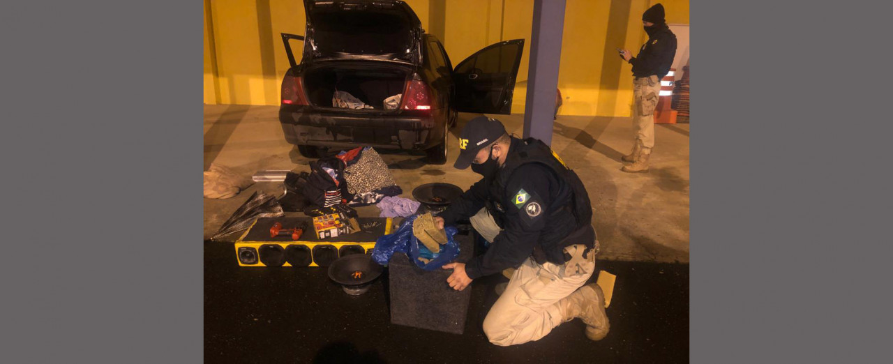 Morador de Concórdia, preso com 25 quilos de drogas em Lages, teve prisão convertida em preventiva