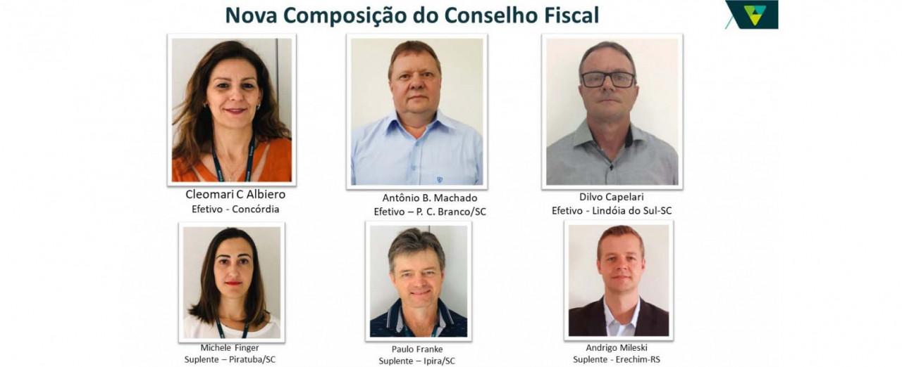 Novo Conselho Fiscal do Sicoob Crediauc é empossado