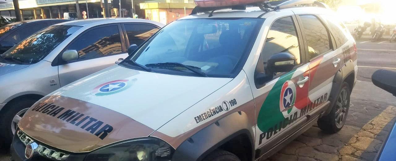 Polícia Militar de Concórdia recupera carro que havia sido furtado