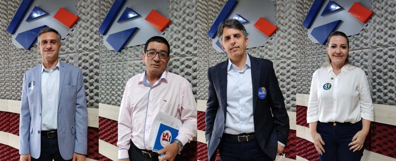 OUÇA: Clima quente marca o debate entre os candidatos a prefeito de Concórdia