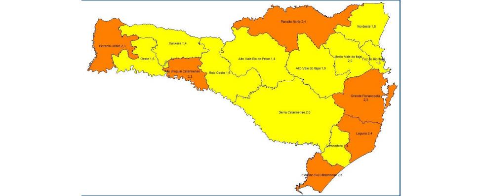 """Região permanece no status sanitário """"grave"""" de transmissão para covid-19"""