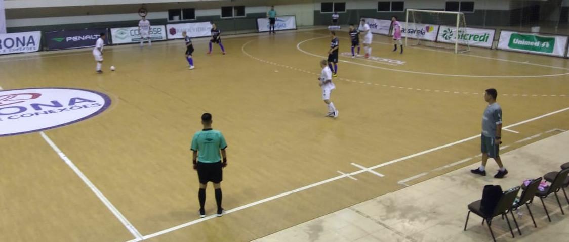 ACF vence Tubarão pelo Estadual de Futsal Série Ouro