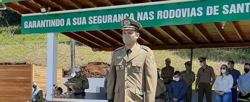 Major Amarante assume o comando do Batalhão de PMRv