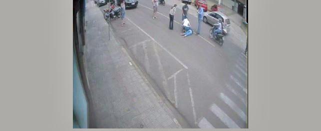 Mulher atropelada em faixa de pedestre está na UTI do HSF