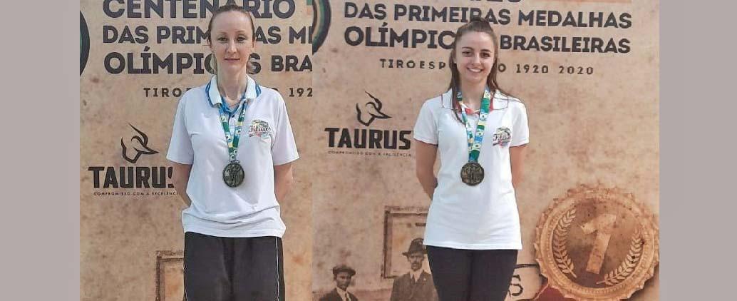 Atiradoras de Concórdia são convocadas pela Confederação Brasileira de Tiros