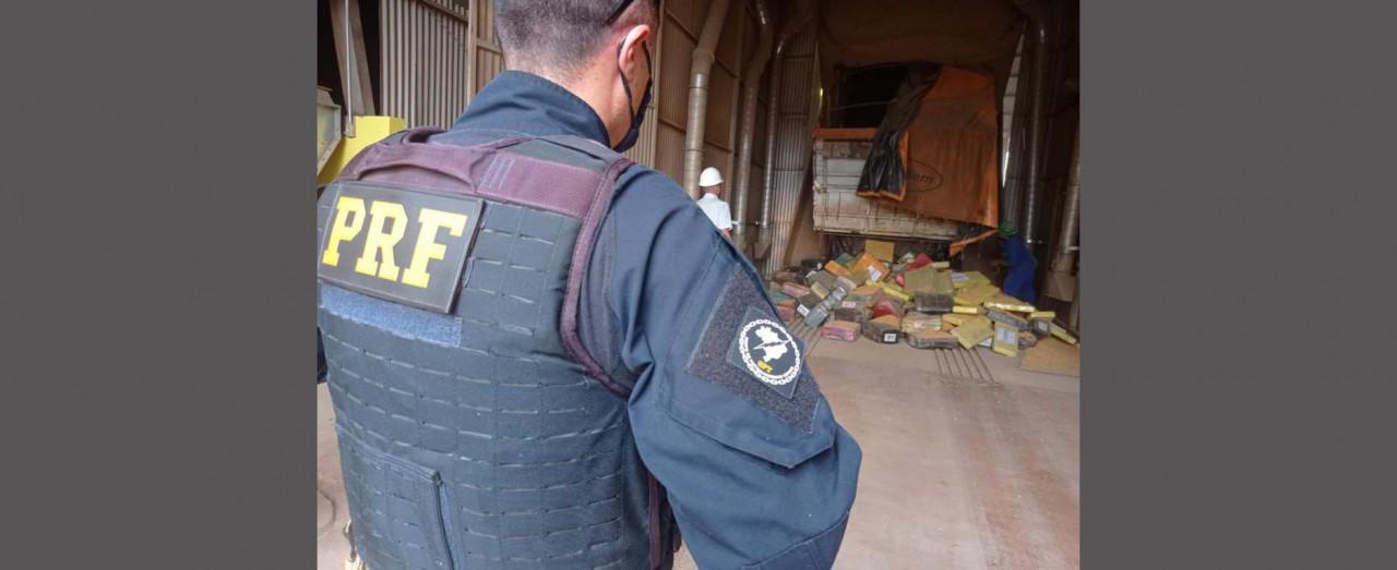 PRF apreende no PR 2,5 toneladas de maconha que vinha para Concórdia