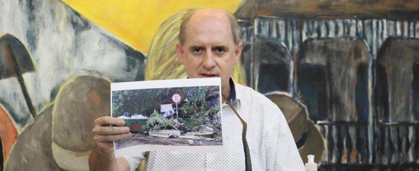 Zagonel solicita informações sobre melhorias e revitalização nas escadarias da Vila União