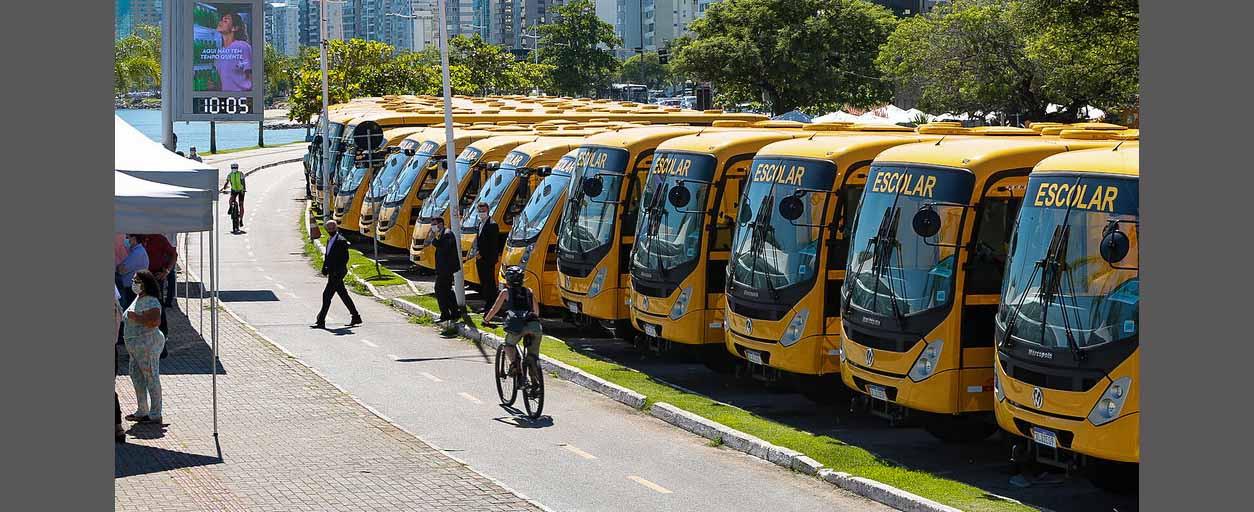 Municípios da Amauc contemplados com ônibus para transporte escolar
