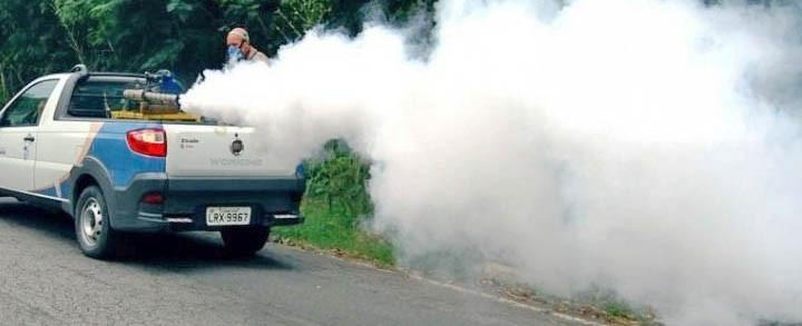 Ruas de Concórdia passarão por procedimento de emissão de fumaça que elimina o mosquito da Dengue