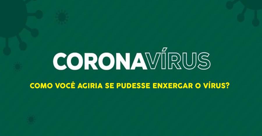 Extra, Extra, Extra, cientistas descobrem tinta que torna o coronavírus visível a olho nu