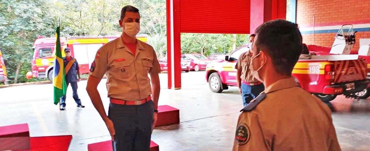 Nilton Gruber é o novo comandante do Corpo de Bombeiros de Piratuba