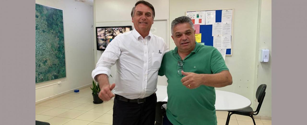 Jair Bolsonaro pode visitar Chapecó nesta quarta-feira