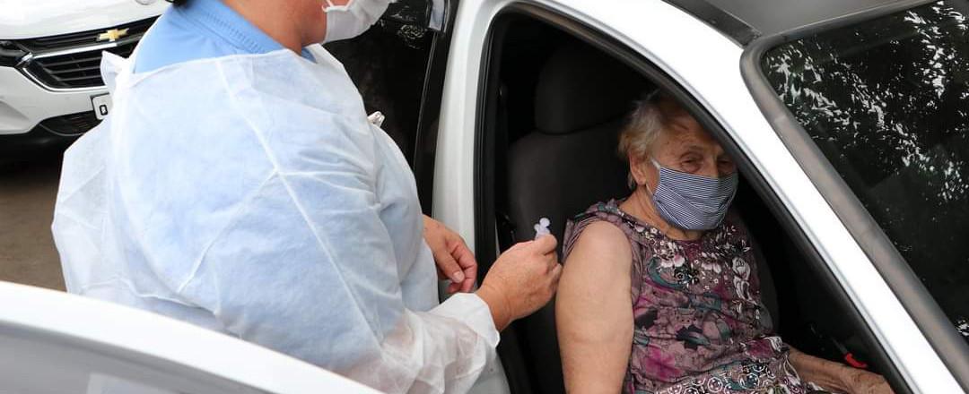 Vacinação para pessoas com mais de 68 anos será realizada nesta sexta-feira em Concórdia