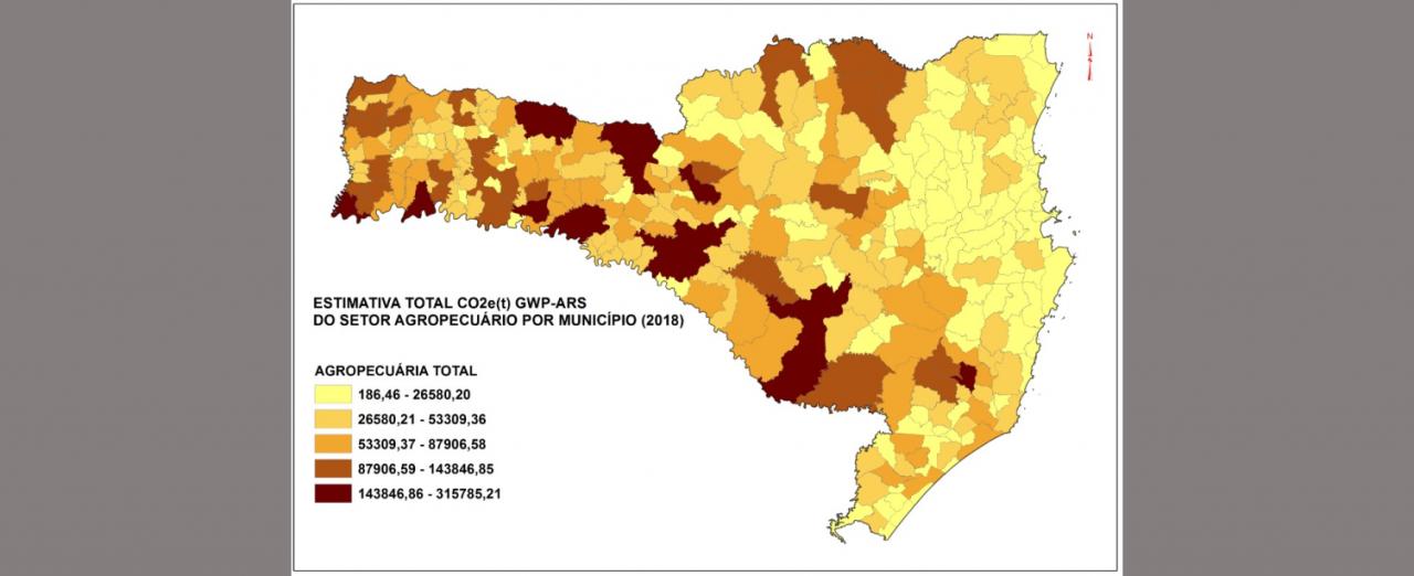 Três municípios da Amauc entre os que mais geram gases de efeito estufa em SC