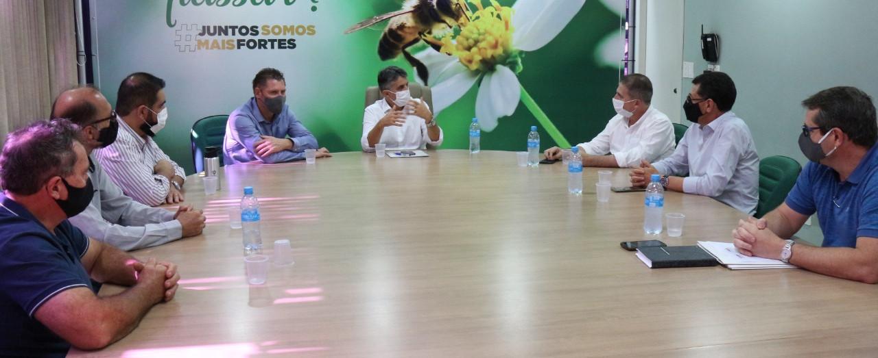 Prejuízos da estiagem são apresentados ao secretário de Estado da Agricultura