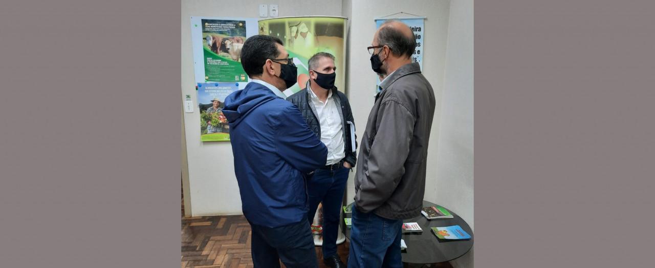 OUÇA: Presidente da Cidasc cumpre agenda em Concórdia