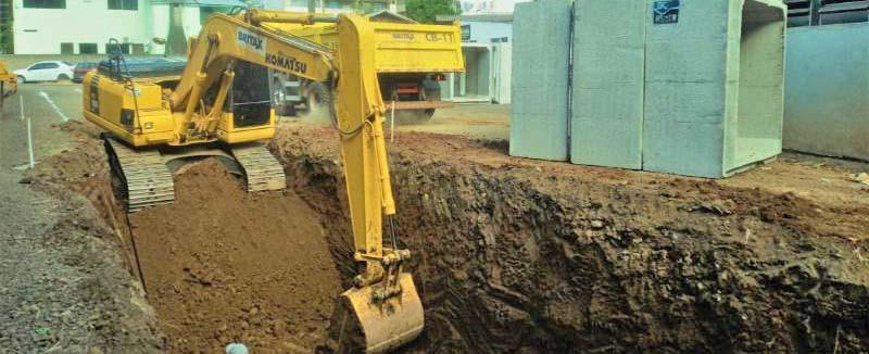 Inicia a obra da drenagem pluvial da Rua Dionísio Boff em Concórdia